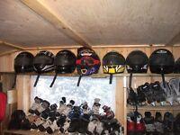 casque pour vtt ou moto-neige