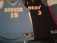 Authentic Stitched Wade & Carmello Anthony Jersey