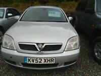2002 VAUXHALL VECTRA 1.8i Club 4dr trade in to clear Mot October 2017 Tow Bar