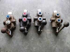 Valves hydrauliques