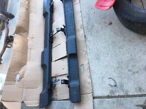 Brand new 2017 four door Jeep Wrangler running boards