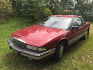 1993 BUICK REGAL 3.8L  LOW MILAGE 93000
