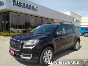 2016 GMC Acadia SLE-2  Low Mileage, Remote Start, AWD