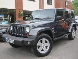 2008 08-Reg Jeep Wrangler 2.8 CRD auto Sahara,GEN 63,000 MILES,IMMACULATE!!!!