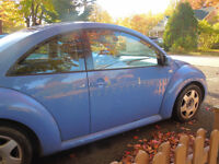 2001 Volkswagen New Beetle 2L, automatique