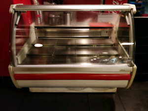 Display cooler and Hot table for sale