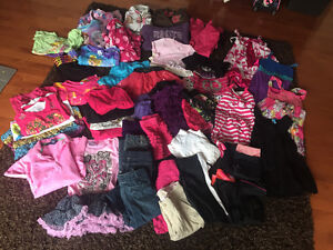 Girls Size 6/6X Clothing lot - Over 45 items for $60