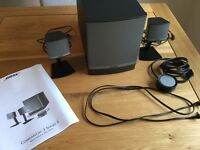 Bose Companion 3 series 2 multimedia speakers