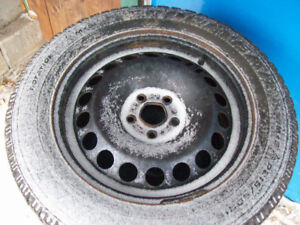 16 inch Winter tires and rims excellent condition