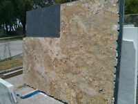 Remnant sale for Sienna Bordeaux granite