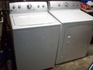 Maytag Washer and Maytag Gas Dryer