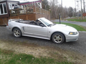 2004 Ford Mustang Spécial Edition 40e Cabriolet