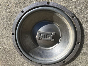 Speaker box and amp for sale