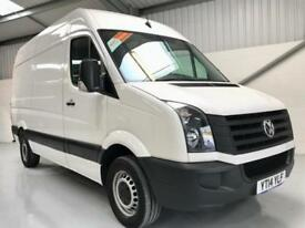 2014 VW VOLKSWAGEN CRAFTER 2.0TDi 109PS CR35 MWB MEDIUM WHEELBASE CHOICE OF 5