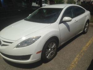 2010 Mazda Mazda6 Sport White Sedan