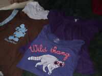 1.00 each womens large t shirts