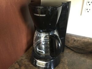 Black & Decker Coffee Maker  $15 only for Quick sale, Like NEW