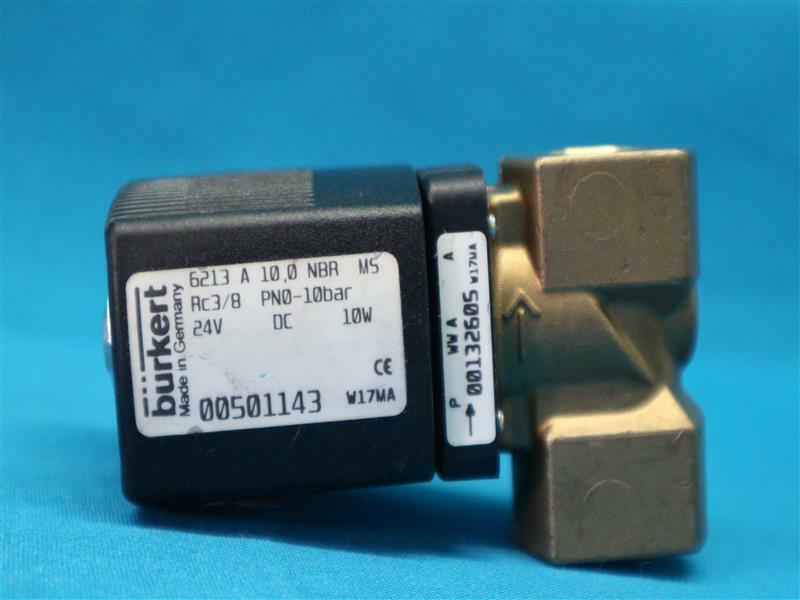 "Burkert 345213 Solenoid Valve 6213 A 13.0 NBR MS 1//2/"" New"