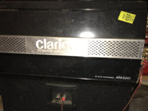 !!!CLARION AMP and JL SUB WOOFER!!!