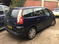 Citroen Grand C4 Picasso 1.8i 16v SX**7 SEATER CARS**49,000 MILES FROM NEW**