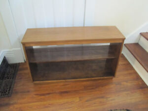 Walnut TV Stand or Bookcase