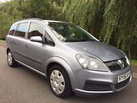 VAUXHALL ZAFIRA 1.6 LIFE 7 SEATER FULL MOT NO ADVISORIES IMMACULATE FIRST TO SEE WILL BUY