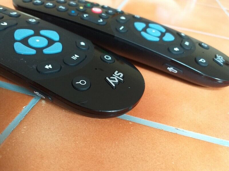 Sky remote control with Voice Control