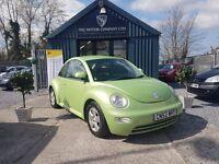 Volkswagen Beetle 1.9 TDI PD 100BHP (green) 2002
