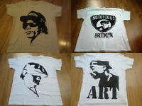 Custom Airbrushed Rap Legends Easy-E, Biggie, Tupac Size S-2XL