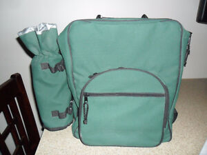 Picnic & Wine Set Insulated Backpack for 4 people