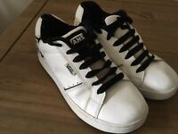 Pair of Vans trainers size 4 good condition
