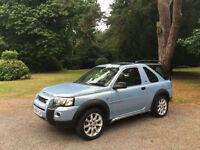 2004 Land Rover Freelander 2.0 TD4 Sport Hard Back 3 Door Estate Blue