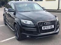 Audi Q7 3.0 TDI Auto quattro S Line Plus 7 Seater Diesel Black
