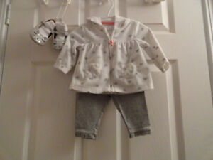 Baby Girls Outfits - Size 3-6 months