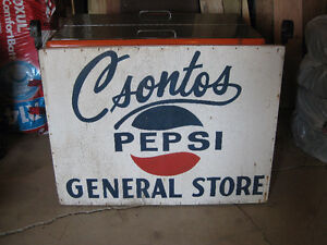One Of A Kind Pepsi Soft Drink Collectible Sign London Ontario image 4