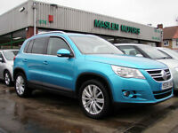 2009/09 Volkswagen Tiguan 2.0TDI 4 Motion Diesel 4x4 Sport 5 Door Demo + 1 Owner