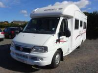 Rapido Randonnuer 7086F 2006 4 berth motorhome for sale