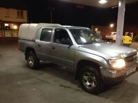 2002 Toyota hilux 4x4 double cab