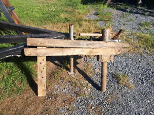 FOR SALE: Wooden vice