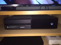 XBox One 1tb + games excellent condition