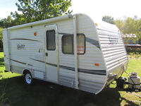 roulotte 2012  jayco 18 pds