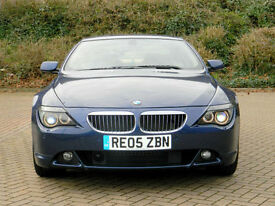 "2005 05 BMW 6 SERIES 4.4 645Ci 2dr WITH RARE SMG G/BOX+19"" WHEELS"