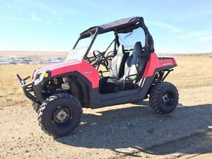 Polaris rzr 800 ranger EFI with snow plow