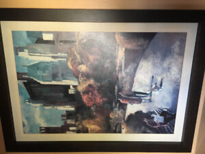 City scapes print. Like new.