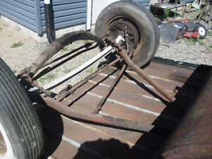1946-48 Ford  complete front axle