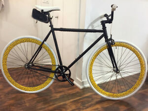 ZYCLE FIX Heritage Robin Riser High-End Fixie Track Like NEW!