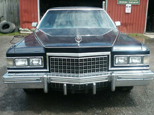 40 years great - 1976 Cadillac Brougham D'elegance