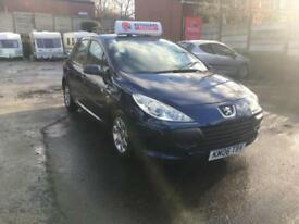 Peugeot 307 S 5dr PETROL MANUAL 2006 SUPERB LOW MILEAGE 45K FSH MOT WARRANTY INC