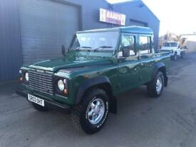 * SOLD * 2003 Land Rover Defender 110 2.5 TD5 Double Cab Pickup Diesel 4x4