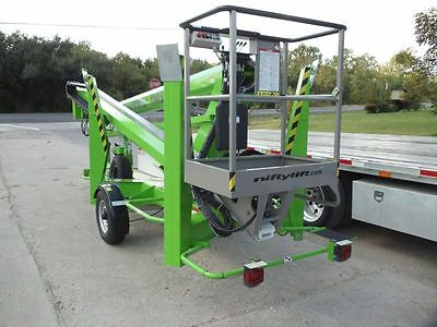 New 2019 Niftylift Tm50hg Trailer Mounted Towable Boom Factory Warranty
